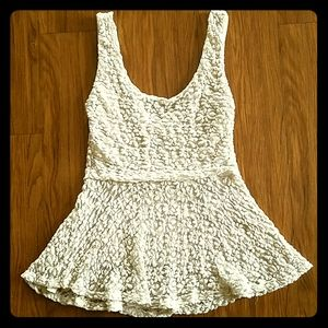 Lacy Top by Pins & Needles